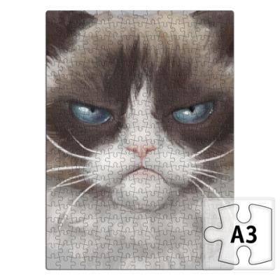 Пазл Grumpy Cat / Сердитый Кот