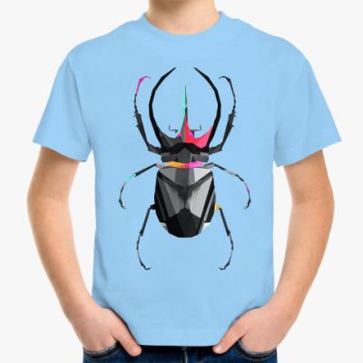 Детская футболка Жук