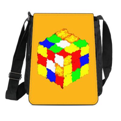 Сумка-планшет Кубик Рубика