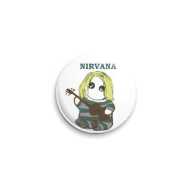 Значок 25мм Nirvana