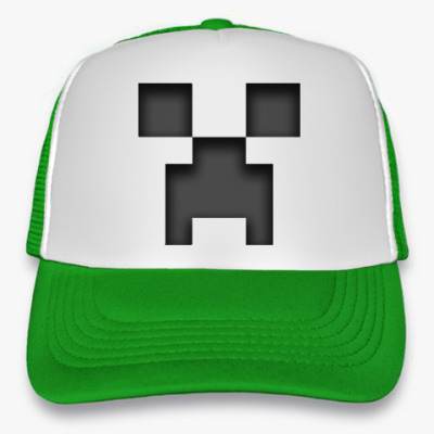 Кепка-тракер Minecraft Creeper