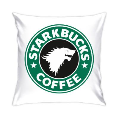 Подушка STARKBUCKS coffee Игра престолов