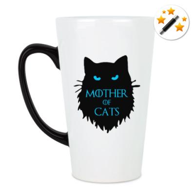 Кружка-хамелеон Mother of cats