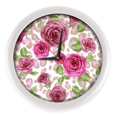 Настенные часы Розы