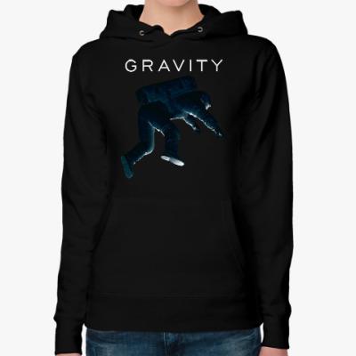 Женская толстовка худи Gravity