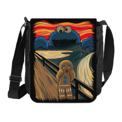 Cookie Monster The Scream