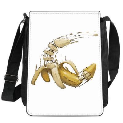 Сумка-планшет Разрезанный банан