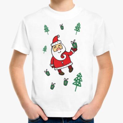 Детская футболка Подарки от деда мороза