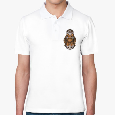 Рубашка поло Три обезьяны символ года