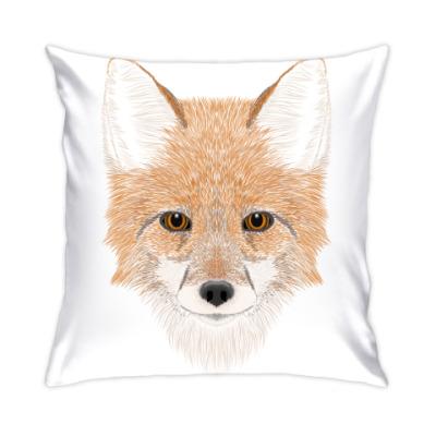 Подушка Рыжий лис