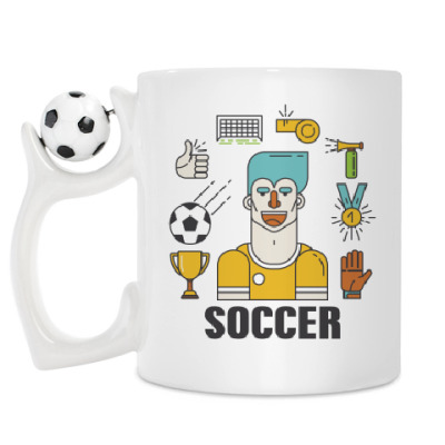 Кружка Для футбольного игрока