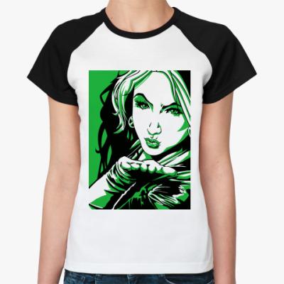 Женская футболка реглан Rogue, Anna Marie