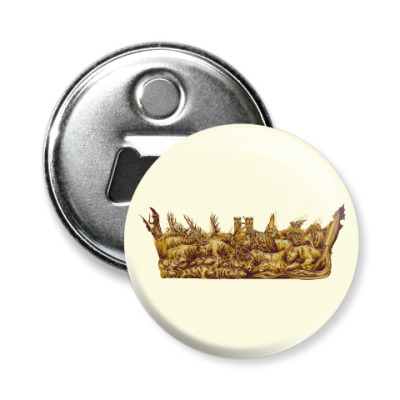 Магнит-открывашка Игра Престолов: Корона