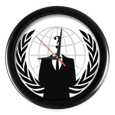 Настенные часы Anonymous, we are Legion!