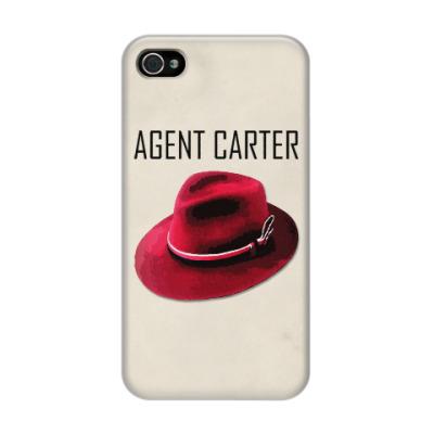 Чехол для iPhone 4/4s Agent Carter