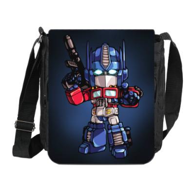 Сумка на плечо (мини-планшет) Optimus Prime