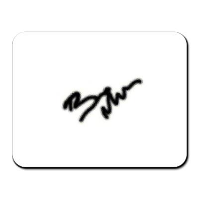 Коврик для мыши 'Автограф БМ'