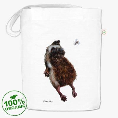 Сумка Ежики самые экологичные млекопитающие