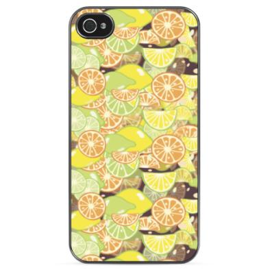 Чехол для iPhone Лимончики, апельсинчики!