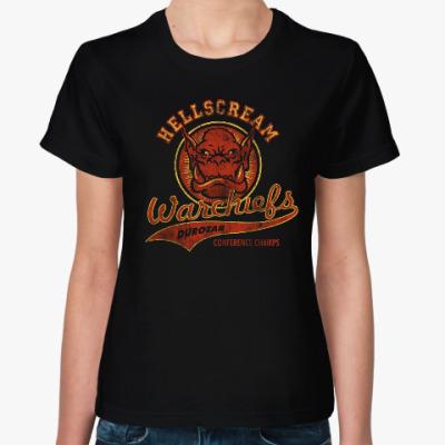 Женская футболка World of Warcraft. Орки
