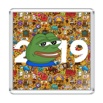 Магнит Пепе 2019