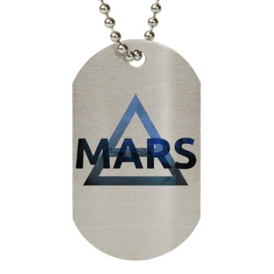 Жетон dog-tag Mars Triad