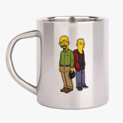 Кружка металлическая Breaking Bad Simpsons
