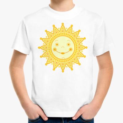 Детская футболка Солнышко