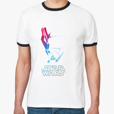 Футболка Ringer-T Star Wars - Darth Vader