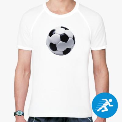 Спортивная футболка Футбольный мяч