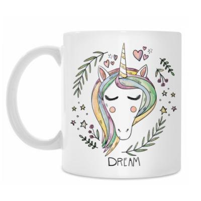Кружка Dreaming Unicorn