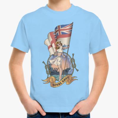 Детская футболка Royal Navy