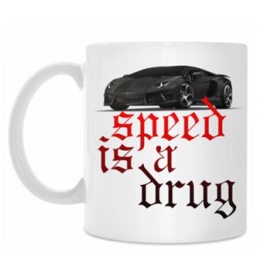 Кружка Speed is a drug