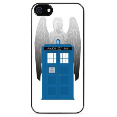 Чехол для iPhone Weeping Angel Doctor Who