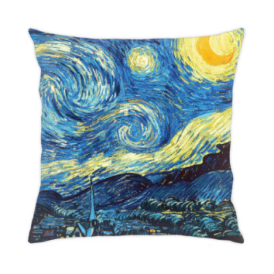 Подушка Звездная ночь, Винсент Ван Гог