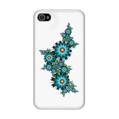 Чехол для iPhone 4/4s Цветы
