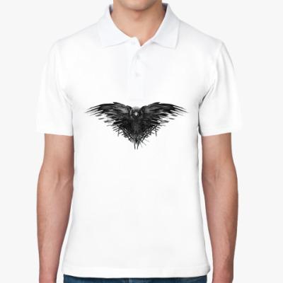 Рубашка поло Игра Престолов: Ворон