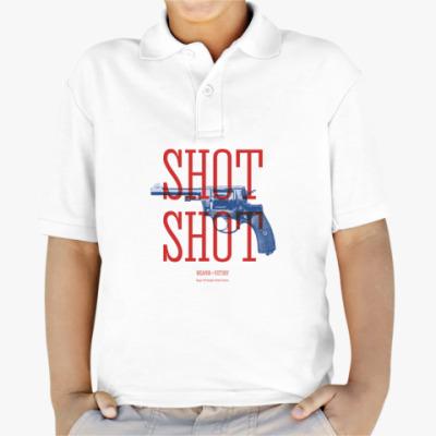 Детская рубашка поло Оружие СССР