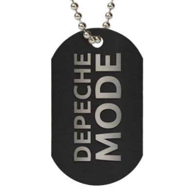Жетон dog-tag Depeche Mode