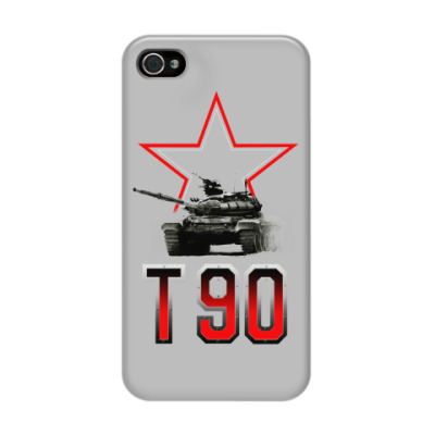 Чехол для iPhone 4/4s Танк Т-90