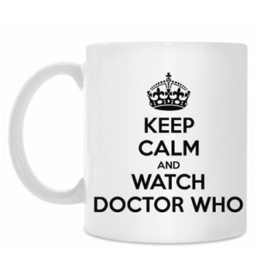 Кружка KEEP CALM and WATCH DOCTOR WHO