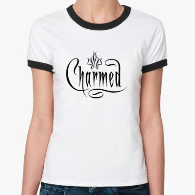 Женская футболка Ringer-T Charmed