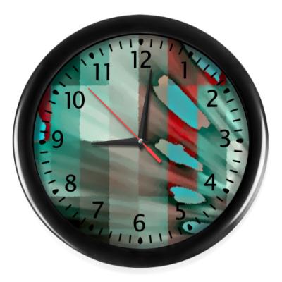 Настенные часы 'Пятна на клетке'