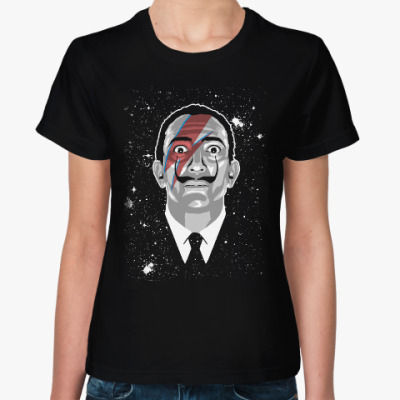 Женская футболка Сальвадор Дали Stardust