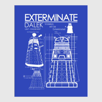 Постер Dalek plan