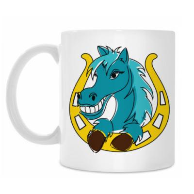 Кружка Лошадь и подкова
