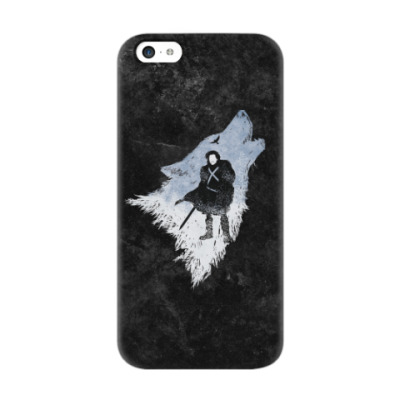 Чехол для iPhone 5c Игра Престолов: Джон Сноу