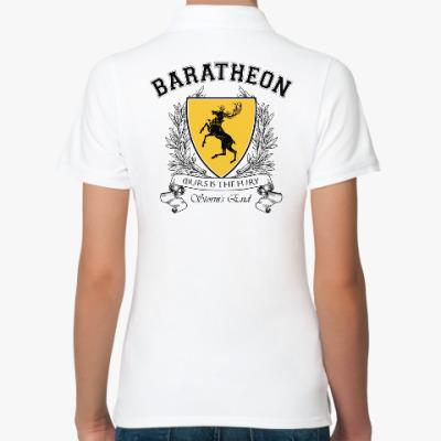 Женская рубашка поло House Baratheon