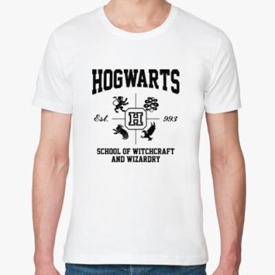 Футболка из органик-хлопка Hogwarts