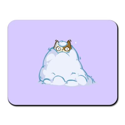 Коврик для мыши Снегокот — Пятничный Котик №40